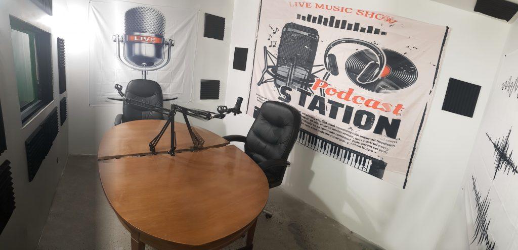 The Centre42 podcast studio